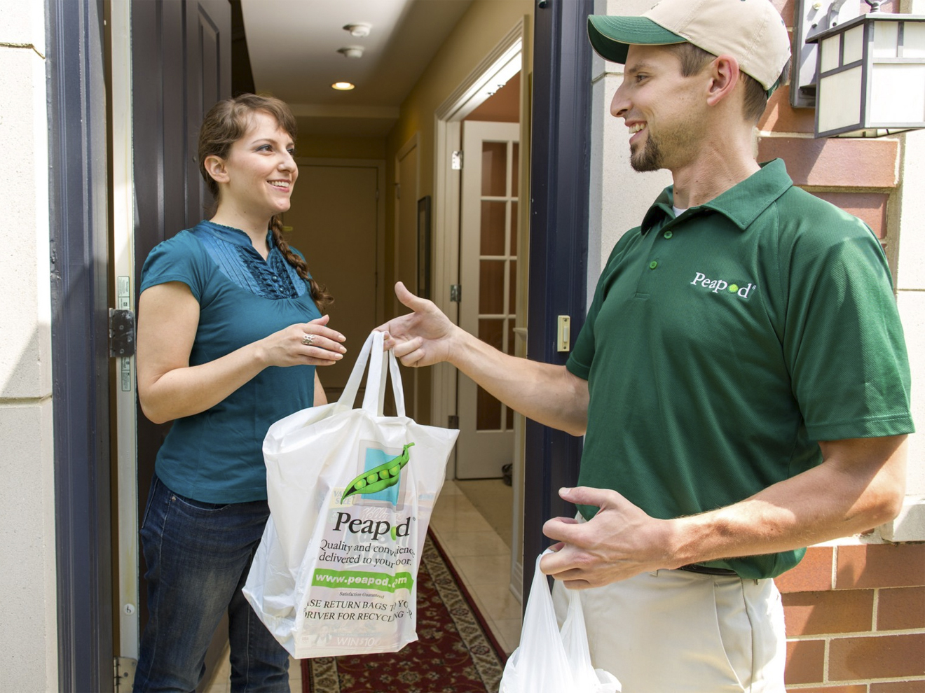 6 Grocery delivery Peapod