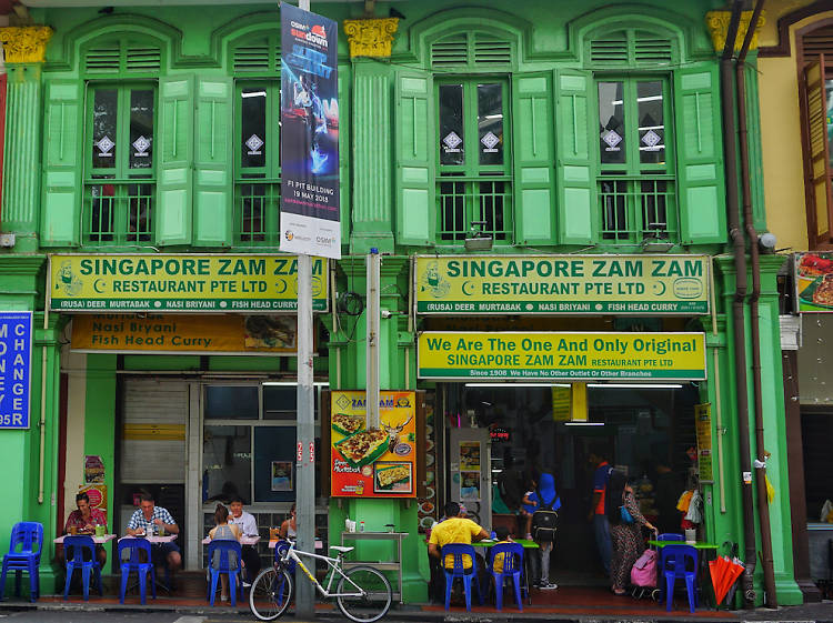 The oldest restaurants in Singapore