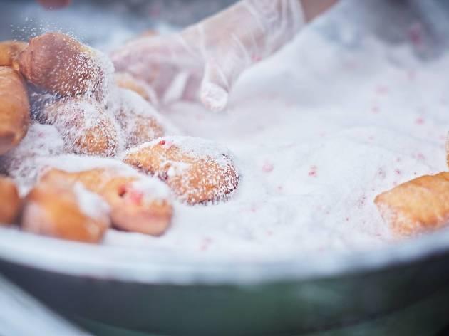 Queen Victoria Market doughnuts