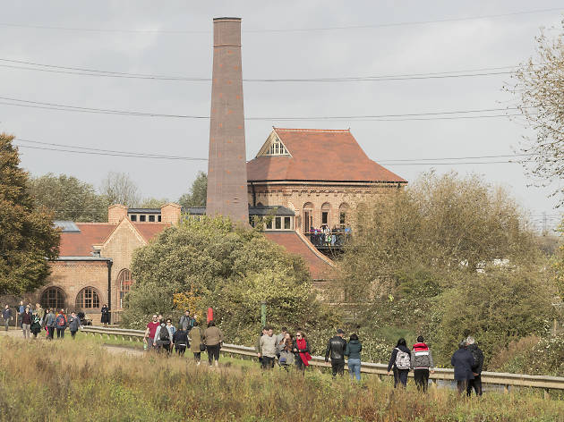 Engine House in Walthamstow Wetlands