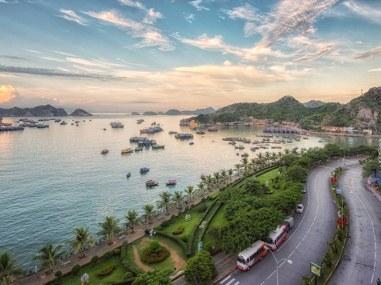Kayak, climb and hike on picturesque Cat Ba