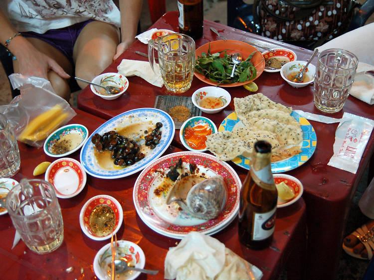 Eat 'til you drop in Vietnam's financial centre