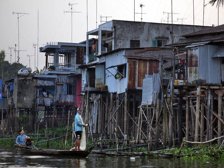 Explore the Mekong Delta's Cambodian border