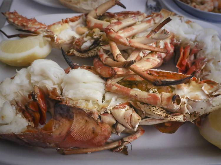 Eat top-notch seafood at Ramiro's