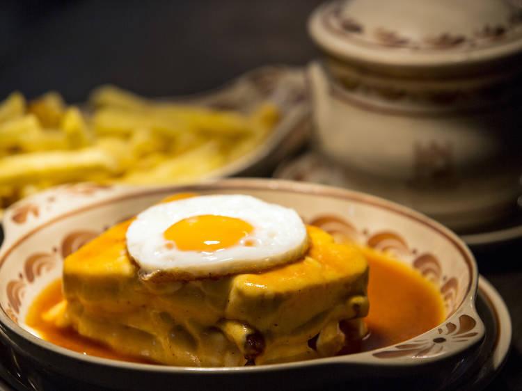 Grab a Francesinha at Santiago's