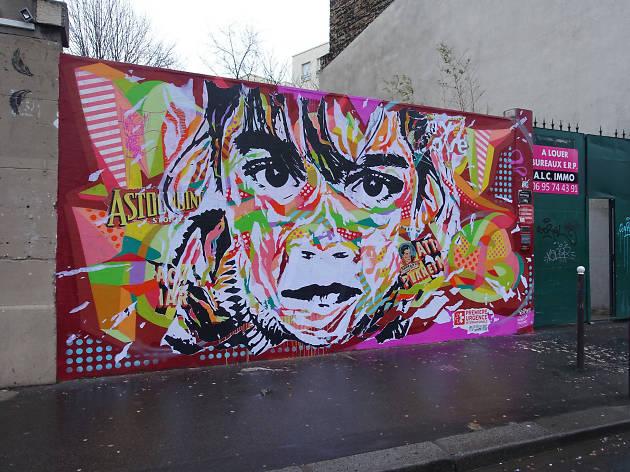 Vhils street art