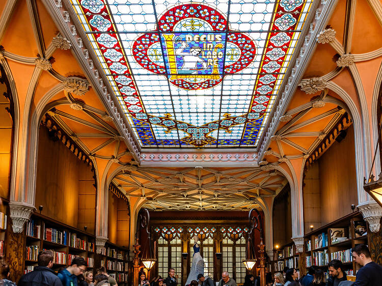 Enter one of the world's most beautiful bookstores