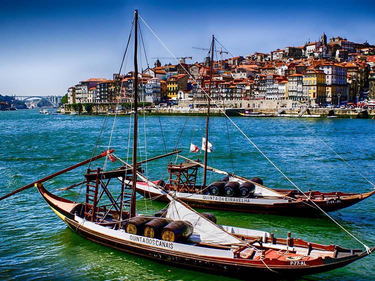 Take a boat trip through the Douro wine region