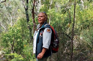 Dharawal Indigenous walk guide Deidre Martin