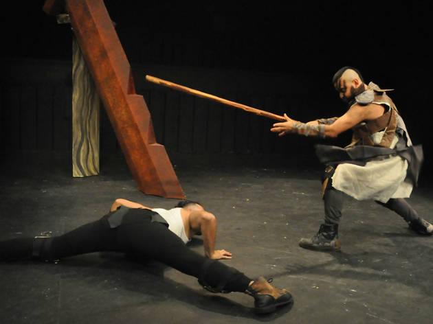 Fenrir: el dios lobo (Foto: Jorge Vargas/ Secretaría de Cultura)