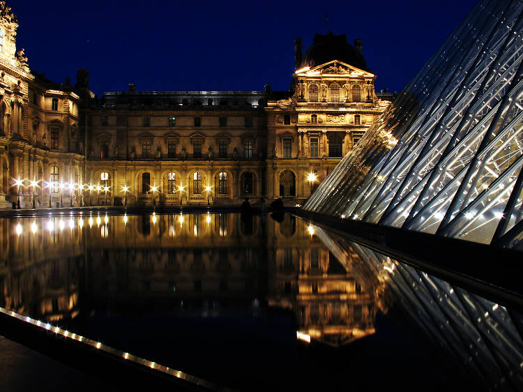 Lose yourself in the galleries of the Louvre
