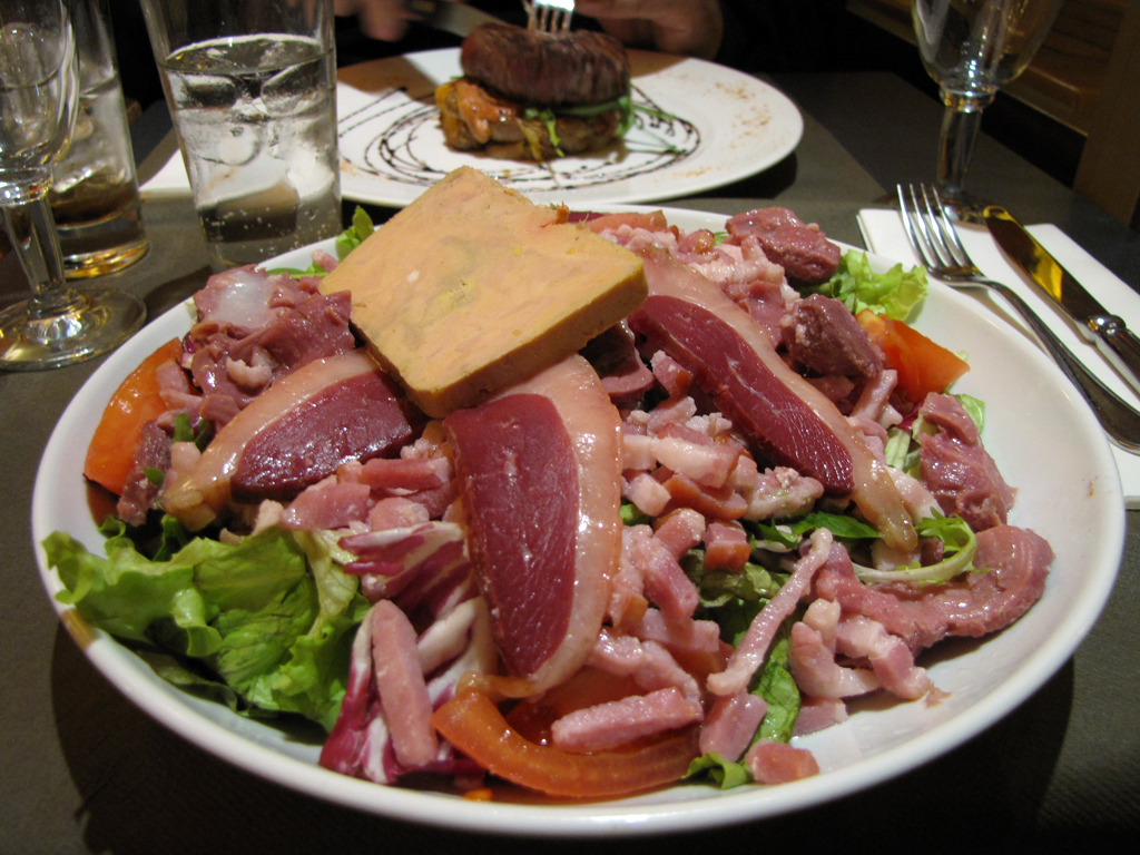 Salade de gizzarde