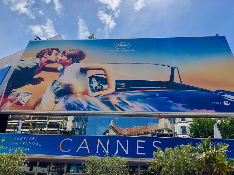 Get on the red carpet at Cannes