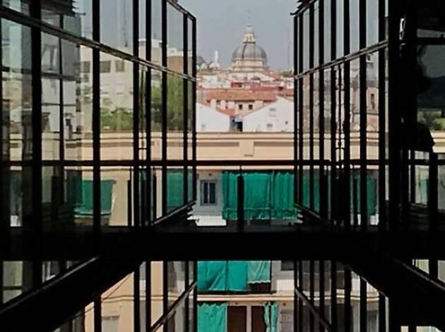 Vistas Lavapiés Museo Reina Sofía