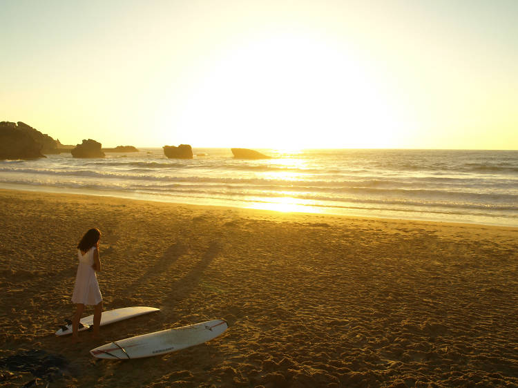 Surf the best beaches of Biarritz