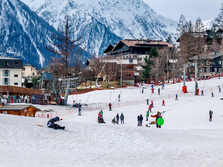 Climb to Chamonix to gawp at Mont Blanc