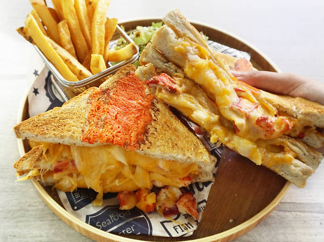 Enjoy buy-one-get-one-free lobster grilled cheese sandwiches for the whole of September