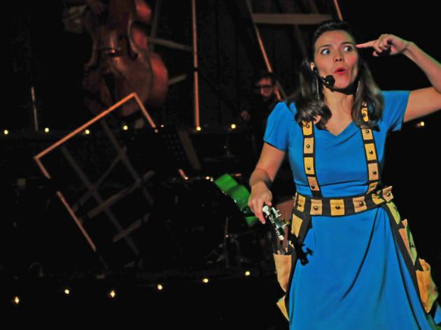 Un swing para insectos (Foto: Cortesía Secretaría de Cultura)