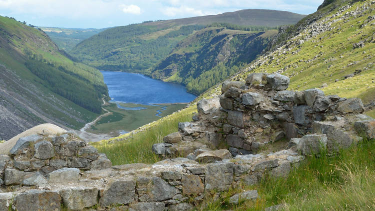 Glendalough is one of the best day trips from Dublin, Ireland.