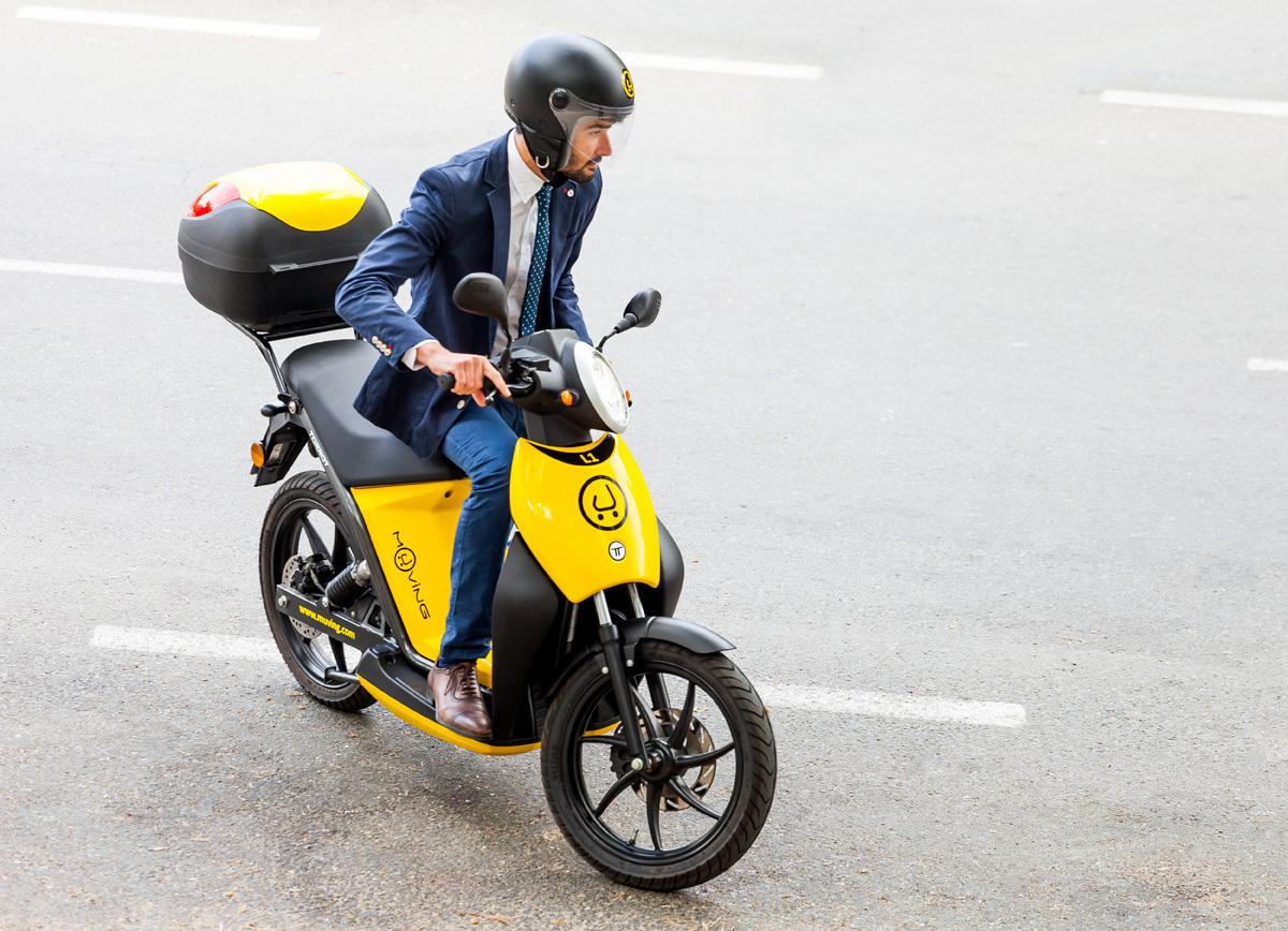 Muving - Moto - Transporte alternativo