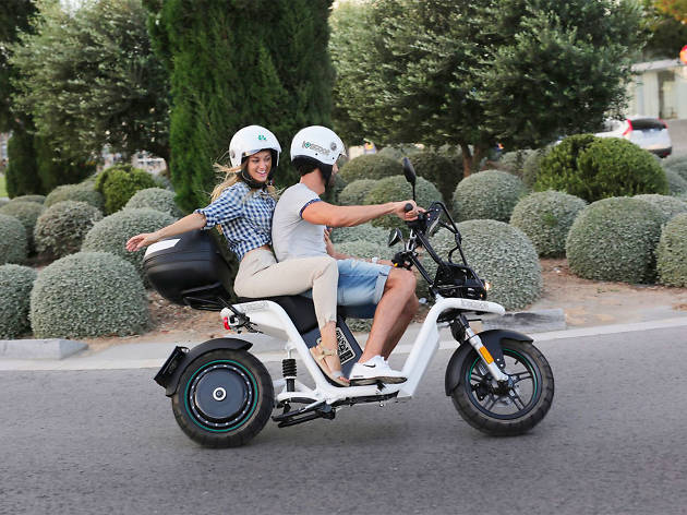 Ioscoot - Moto - Transporte alternativo