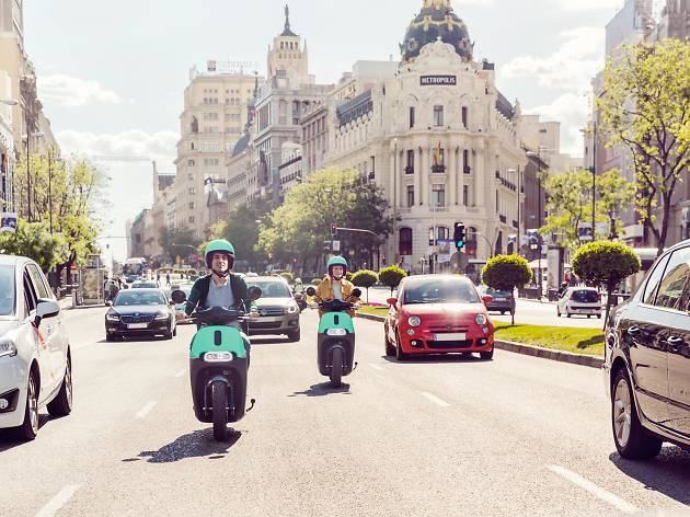 Coup - Moto - Transporte alternativo