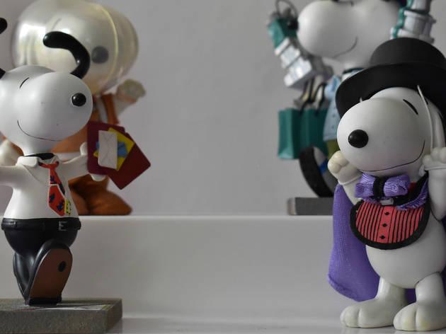 Snoopy en el MUJAM (Foto: Cortesía MUJAM)
