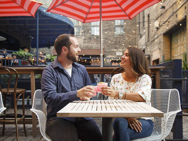We set up two Chicagoans on a blind date in West Loop—here's what happened