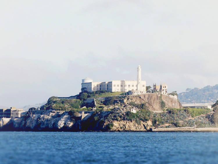 Take a night tour of Alcatraz Island