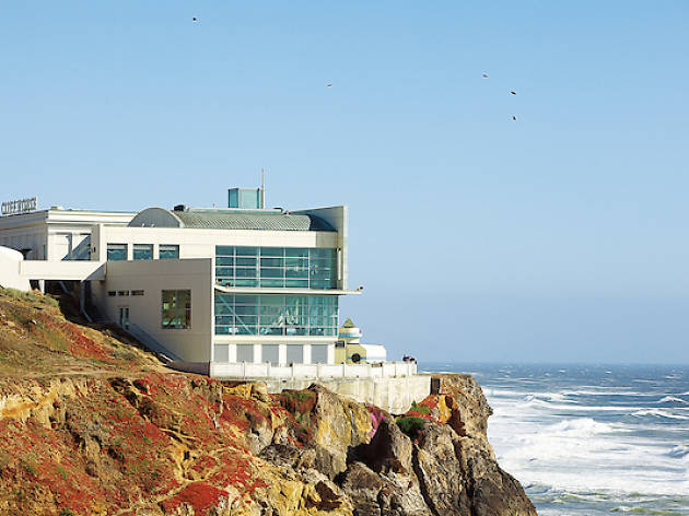 Cliff House, ocean, Lands End, restaurant, waterfront, coastline, waves