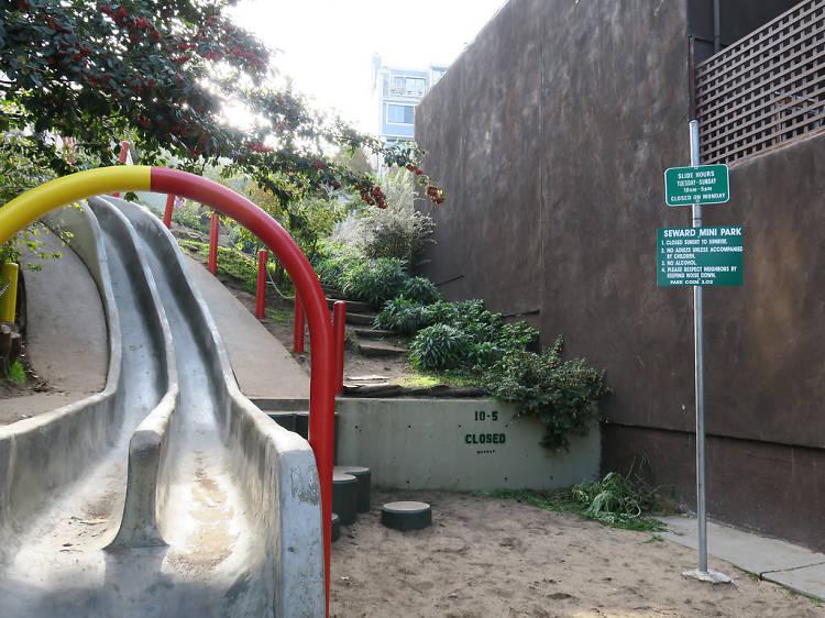 Take a slide on Seward Street