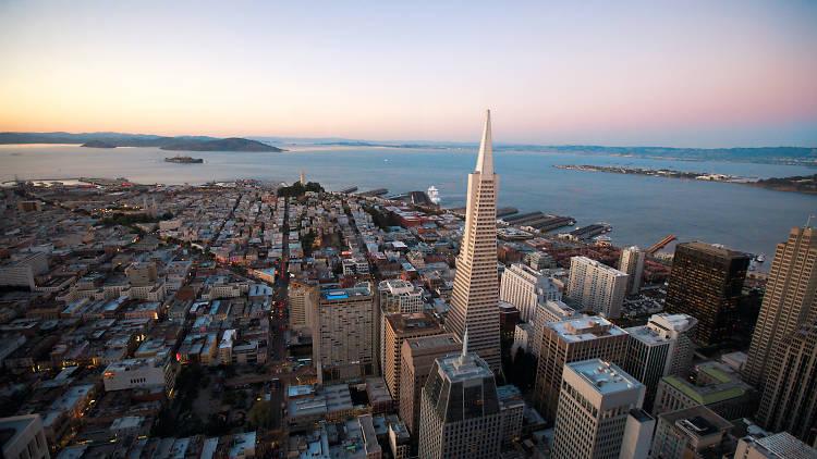 San Francisco Skyline, transamerica