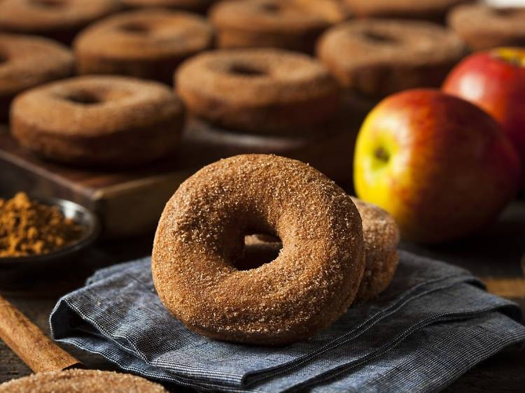 Best apple cider donuts in NYC