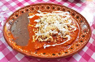 Enchiladas de Cazuelas Don Goyo