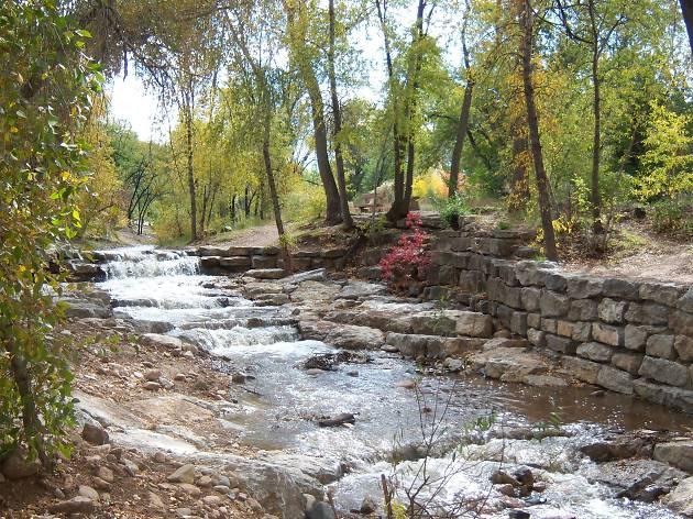 santa fe river park trail