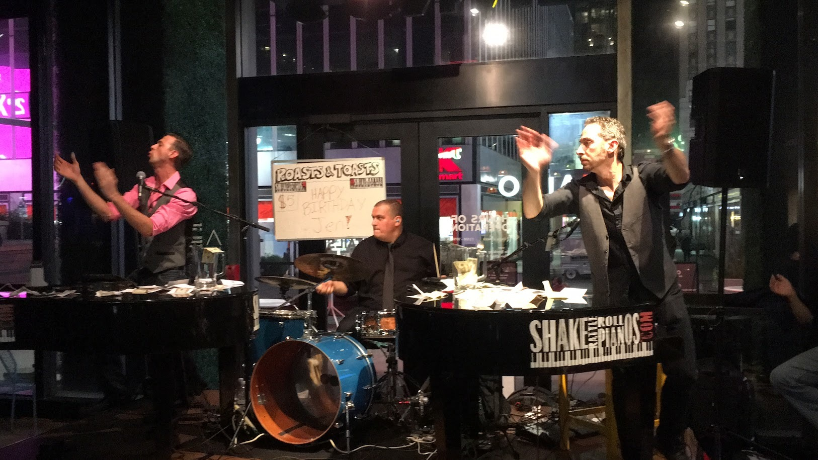 Save $10 at Shake, Rattle & Roll Dueling Pianos Bar