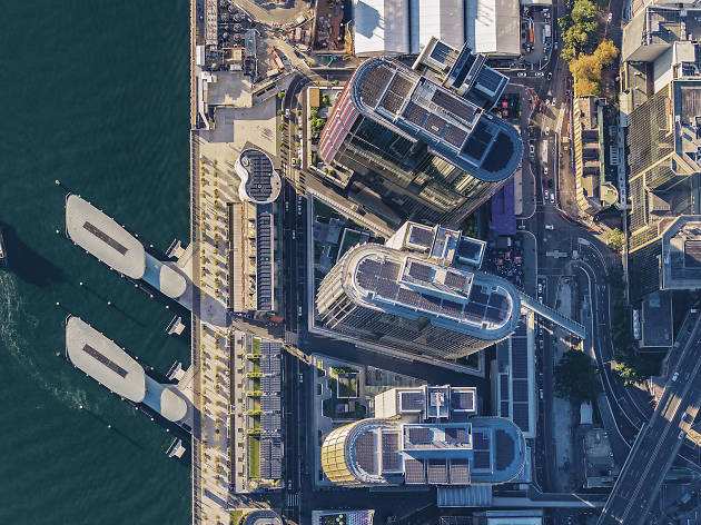 Aerial Photograph of Barangaroo.