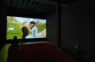(Jon Rafman, 'Dream Journal 2016–2017', 2017, installation view, Artspace, Sydney, 2018. Photo: Zan Wimberley  )