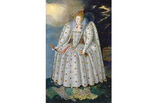 (Marcus Gheeraerts the Younger,Queen Elizabeth I (The 'Ditchley' portrait), © National Portrait Gallery, London)