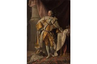 (The Studio of Allan Ramsay King George III (detail) circa 1761, Collection: Bendigo Art Gallery)