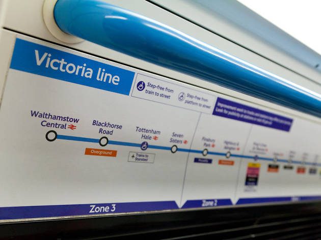 Uncover the gems of the Victoria line