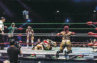 Lucha libre de mujeres en la Arena México