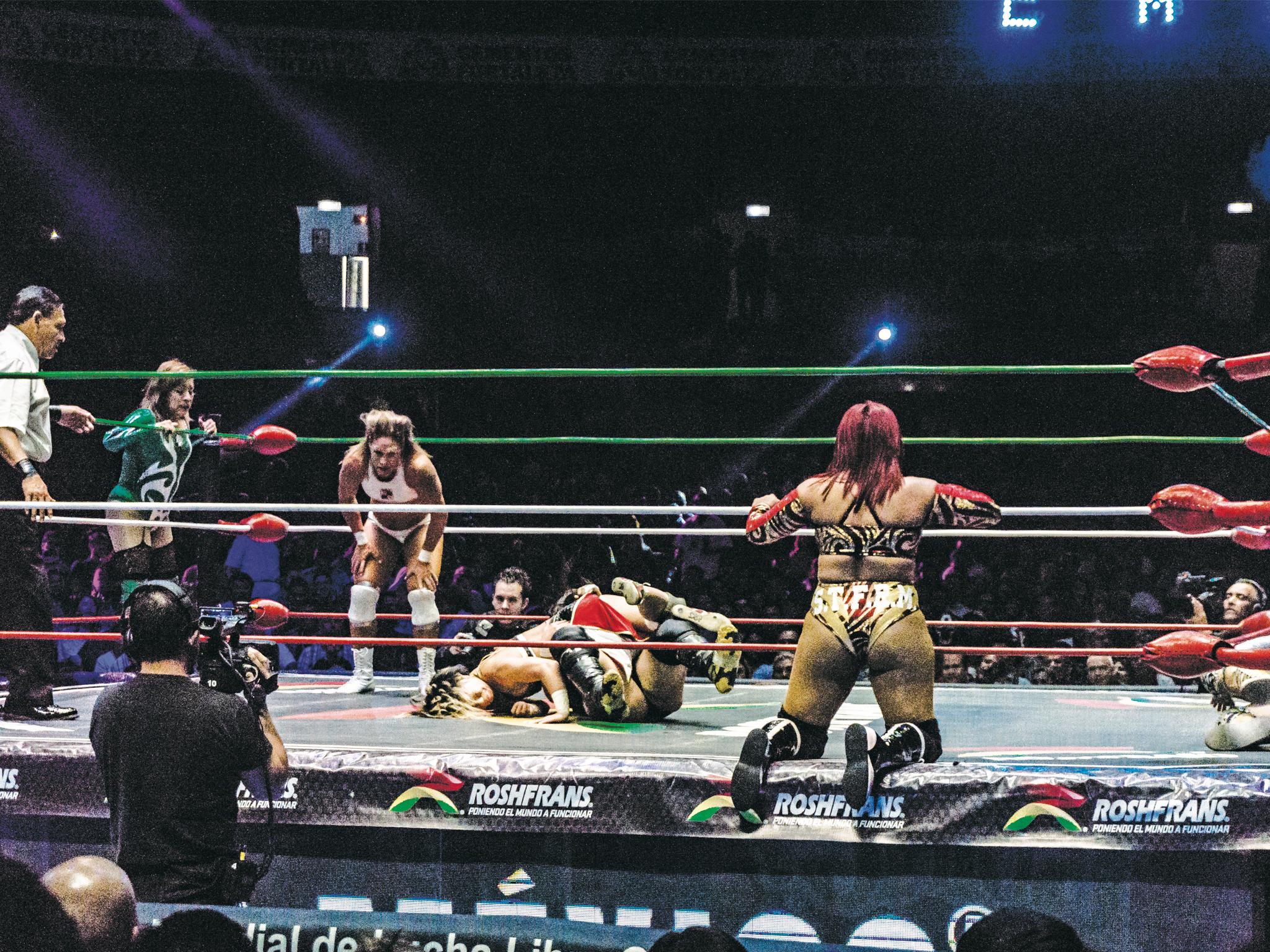 Las mujeres en la lucha libre de la CDMX