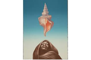 Charles White, Love Letter III, 1977