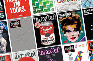 Time Out 50: 50 Years, 50 Covers book and exhibition featuring iconic covers from 1968 to 2018