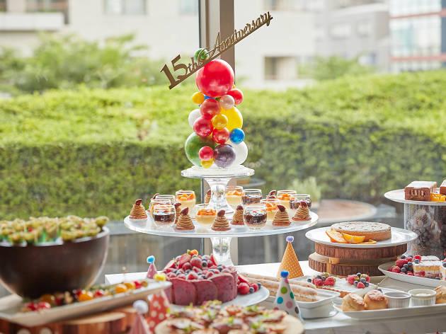 Grand Hyatt Tokyo sweets buffet