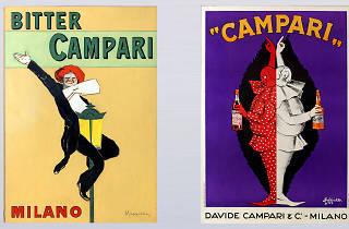 Retro campari prints