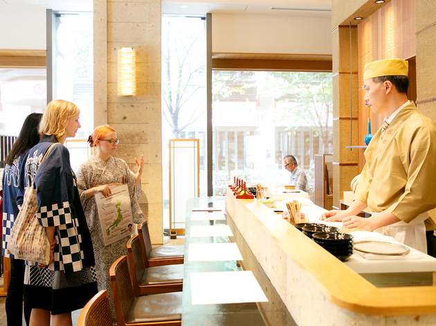 Gourmet Food Tour Nihonbashi