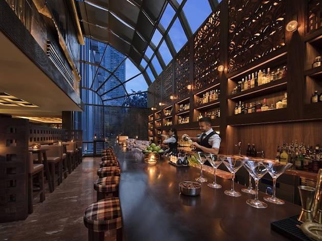 Martini Bar at Grand Hyatt Singapore