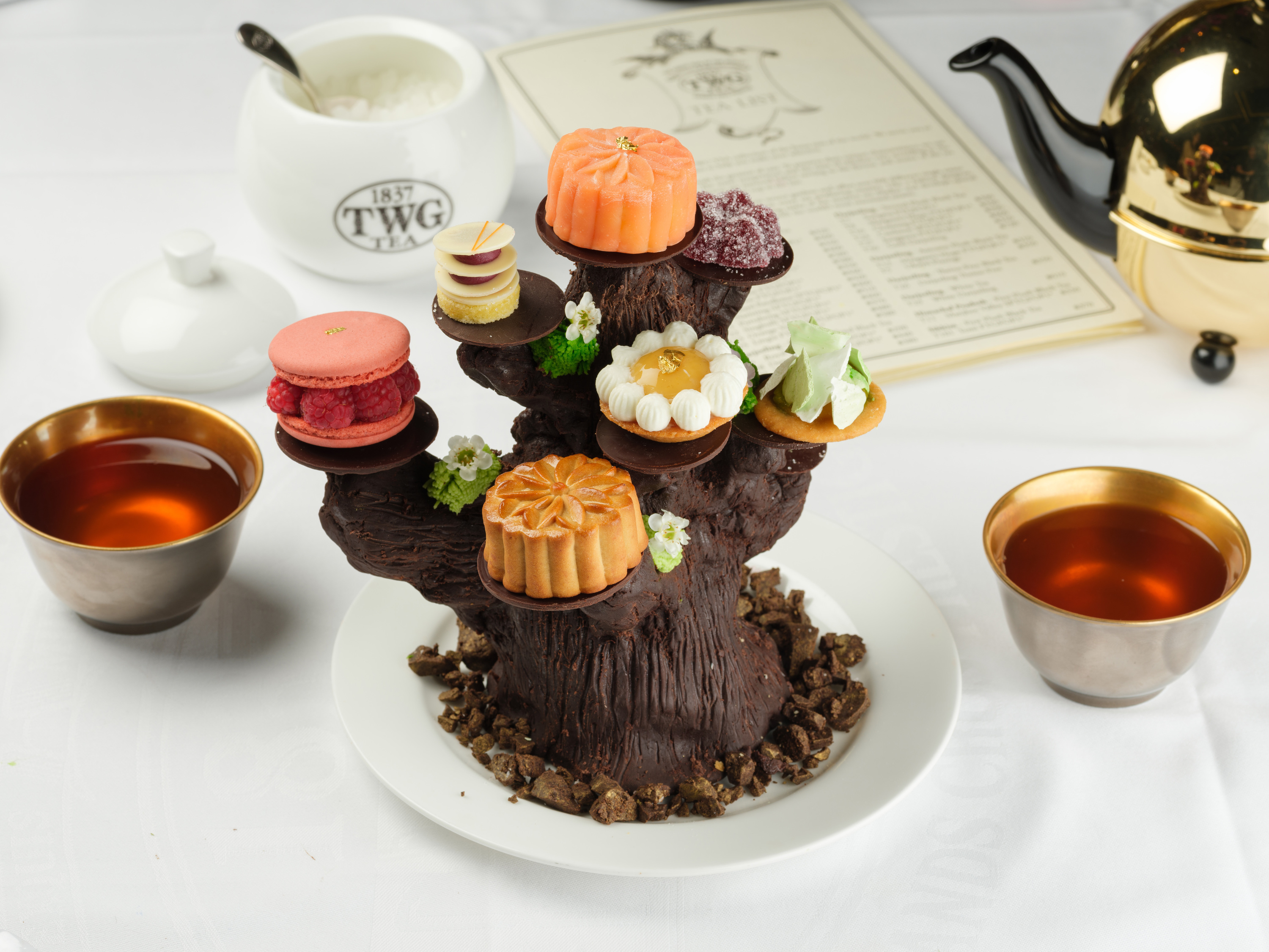 TWG Tea introduces Moon Tree set for this mooncake season